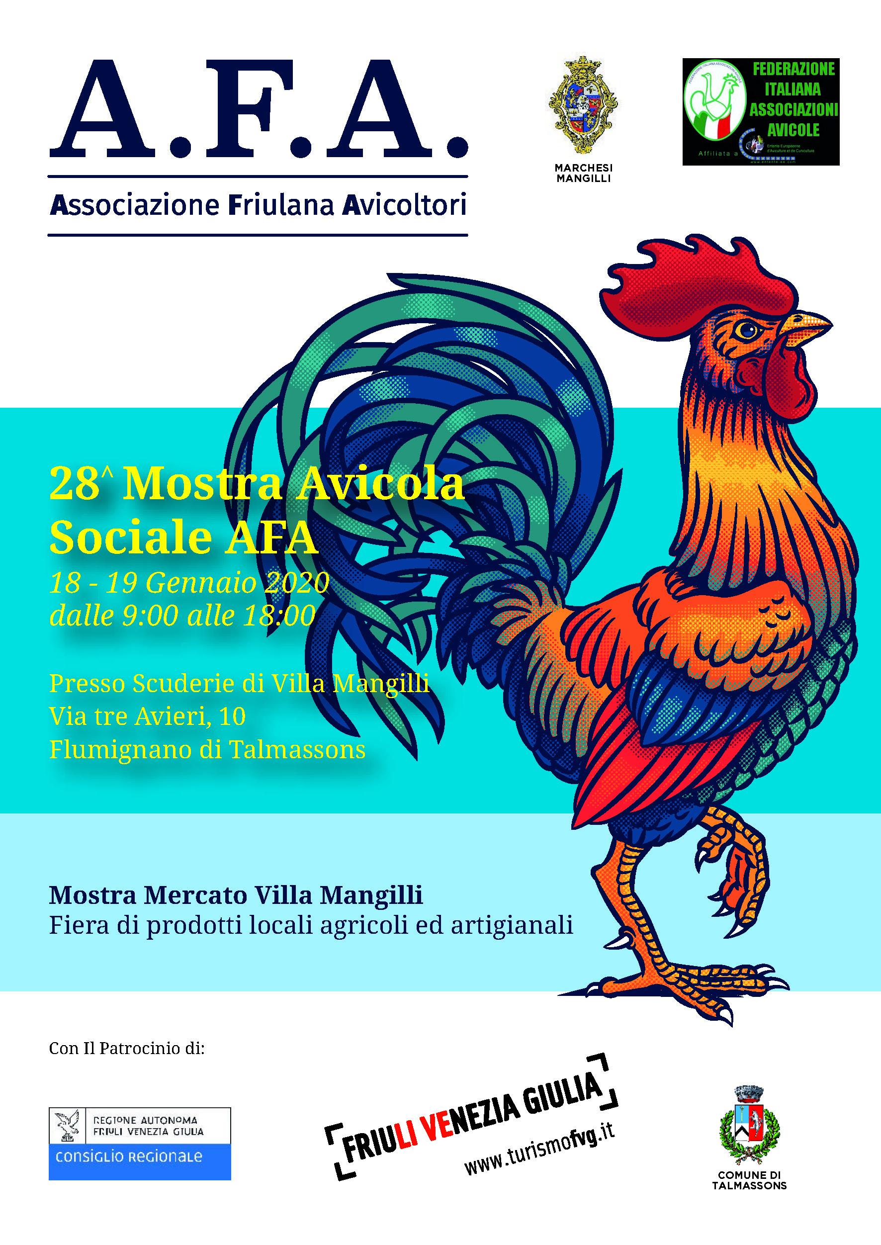 Mostra Sociale A.F.A. 11.01.2020